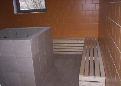 installation hammam à Montbrun-les-Bains