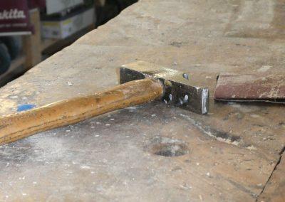 le marteau en atelier