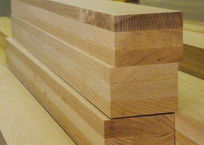 stockage de bois menuiserie